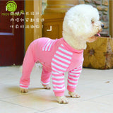 Soft Cotton  Dog  Winter Pajamas Jumpsuits Romper XS-XL