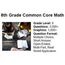 8th Grade Common Core Math