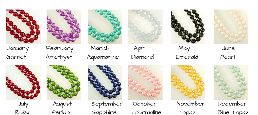 12 Birthstone Donut Bundle - GRAB BAG!