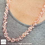 Chic Strand - Light Coral Crystal