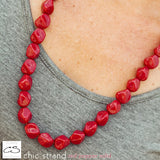 Chic Strand - Red Pepper Solid