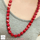 Chic Strand - Ruby Solid