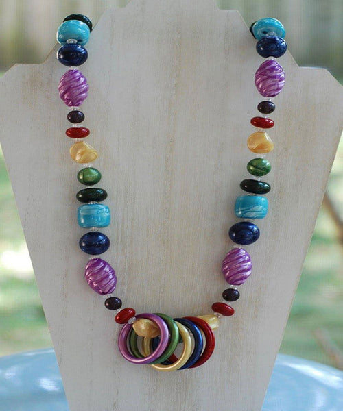 Nursing Necklace - Rainbow