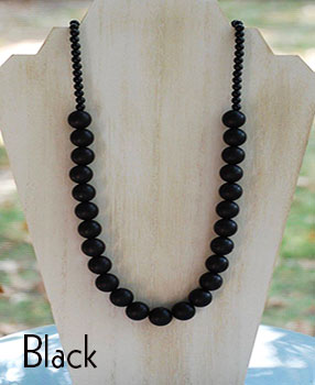 Teether Strand - Black