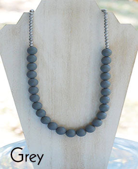 Teether Strand - Grey
