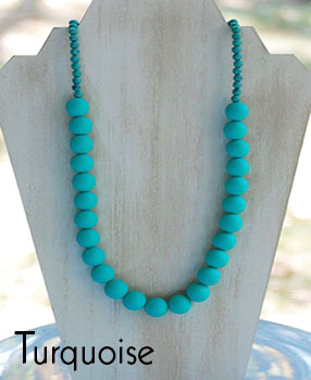 Teether Strand - Turquoise