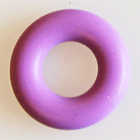 Amethyst Teether Ring Donut Add On