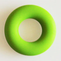 Chartreuse Teether Ring Donut Add On