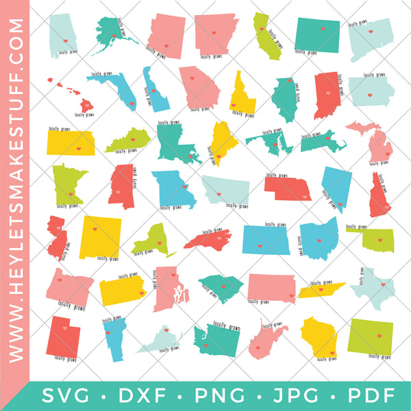 Locally Grown - 50 States Bundle