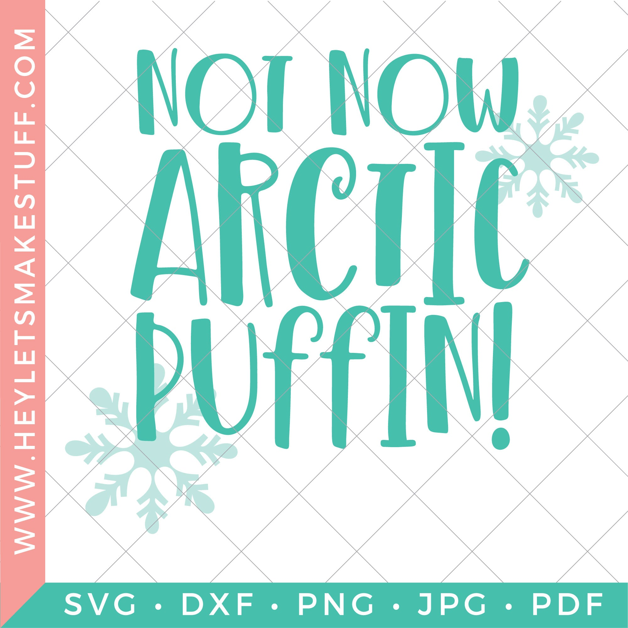 Not Now Arctic Puffin!