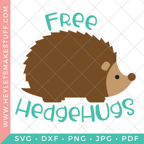 Free Hedgehugs - Teal