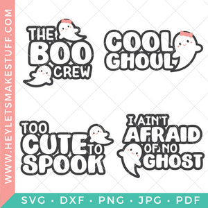 Ghost Halloween Bundle