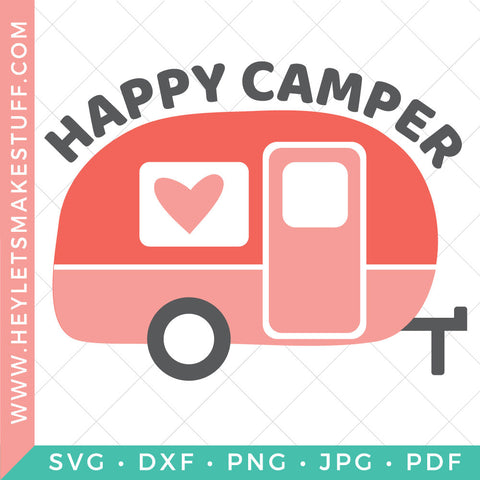 Happy Camper Trailer
