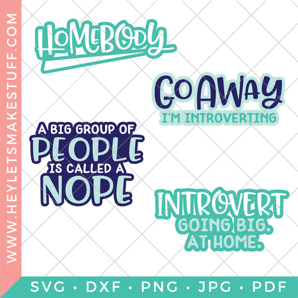 Homebody Introvert Bundle