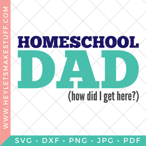 Homeschool Dad (How Did I Get Here?)