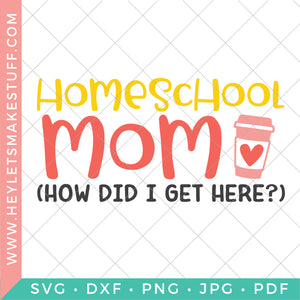 Homeschool Mom (How Did I Get Here?)