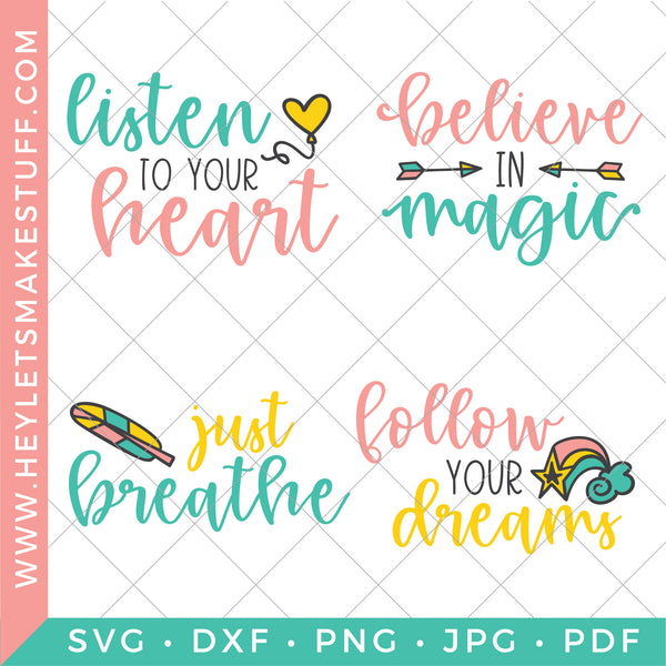 Inspirational Quote Bundle