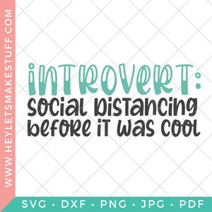 Introverting: Social Distancing Before It Was Cool