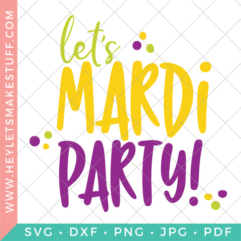 Let's Mardi Party