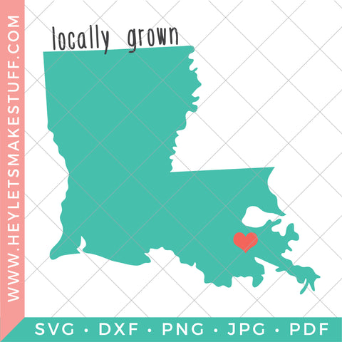 Locally Grown - Louisiana
