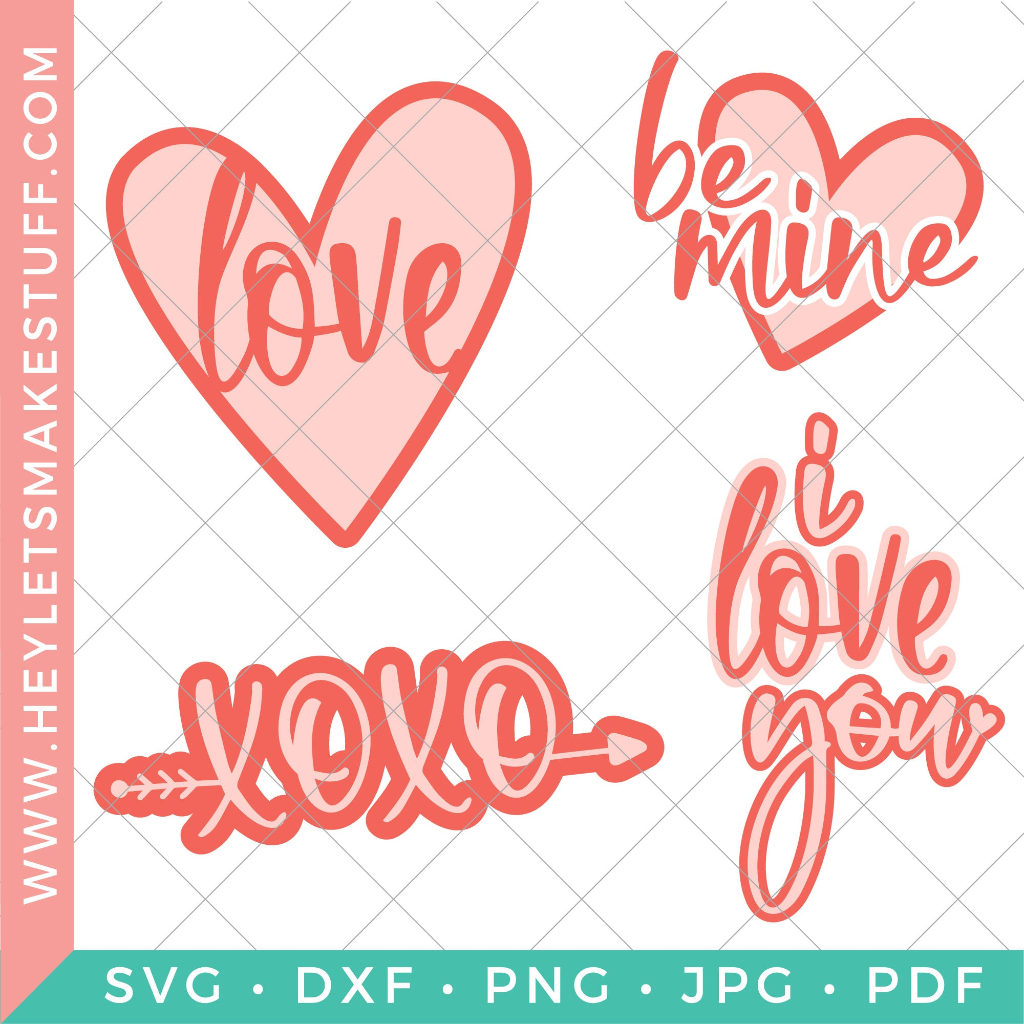 Love Svg Files To Make Gifts For Everyone Hey Lets Make Stuff