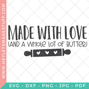 Made with Love and Butter - Wide