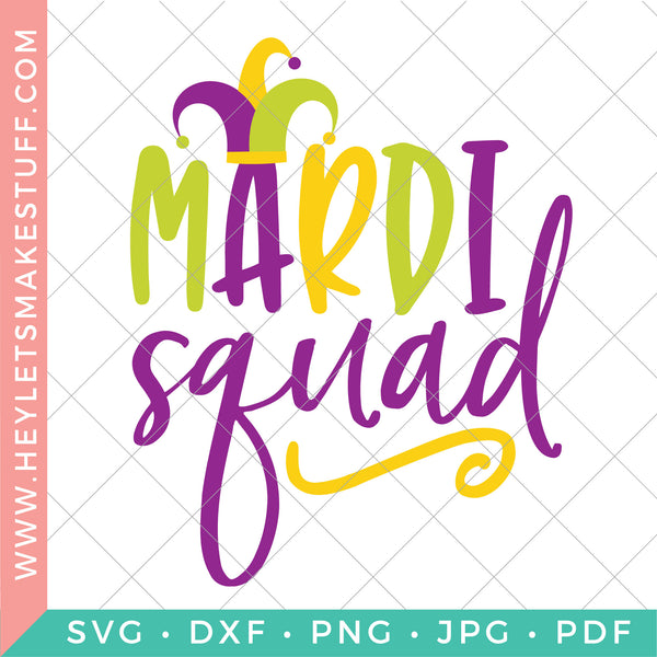 Mardi Gras Cut File Bundle
