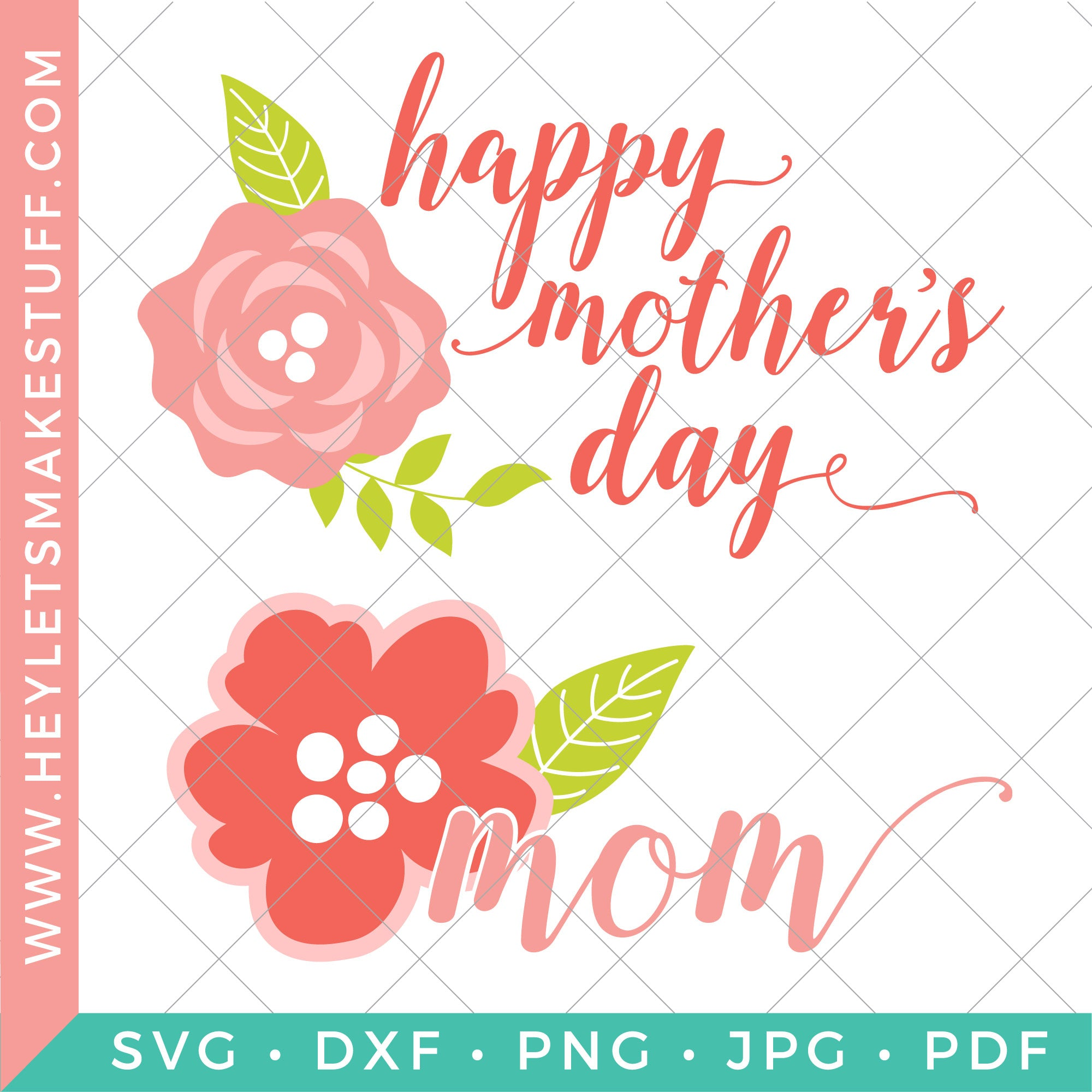 Free Make her day with free mother's day cards. Happy Mother S Day Svg Bundle Hey Let S Make Stuff SVG, PNG, EPS, DXF File