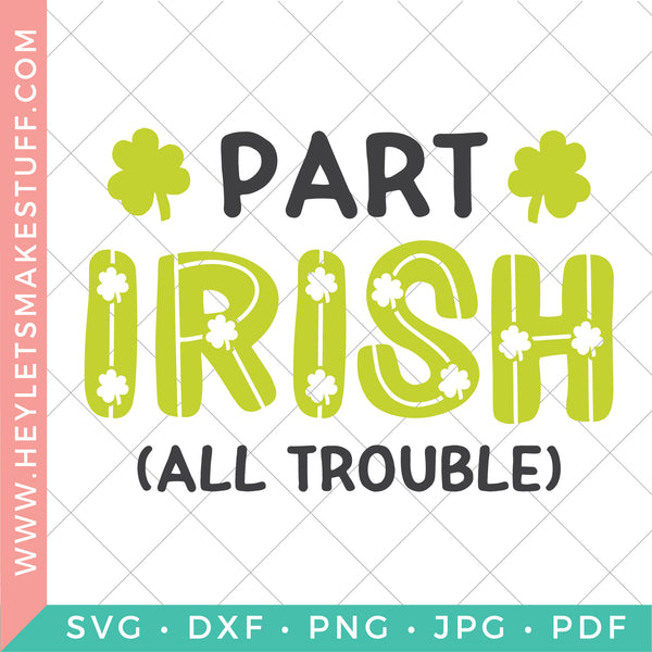 St. Patrick's Day Cut Files Bundle