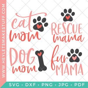 Cat and Dog Mom Bundle