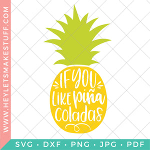 Piña Colada Pineapple