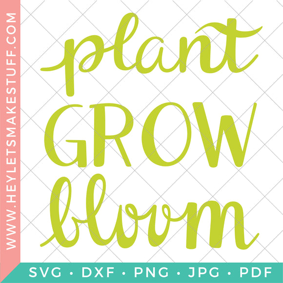 Plant Grow Bloom