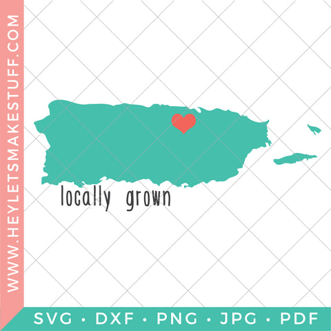 Locally Grown - Puerto Rico
