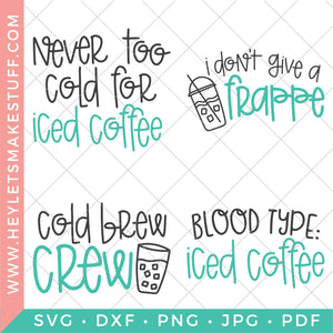 Iced Coffee Bundle