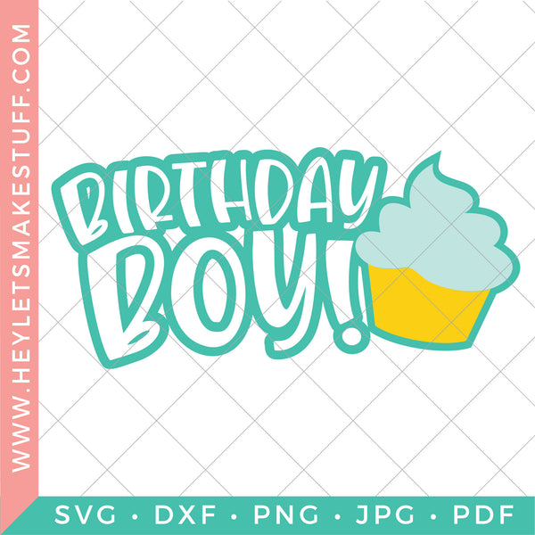 BIG Birthday Bundle - 33 SVG Files