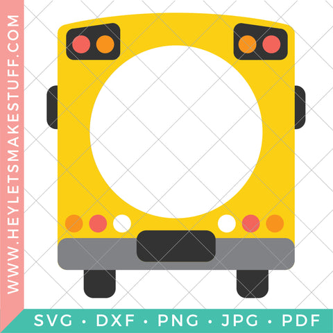 School Bus Monogram