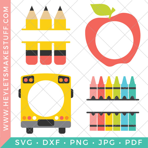 School Monogram Bundle