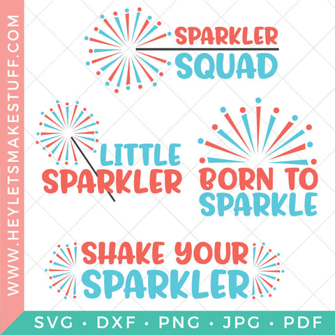 4th of July Sparkler Bundle