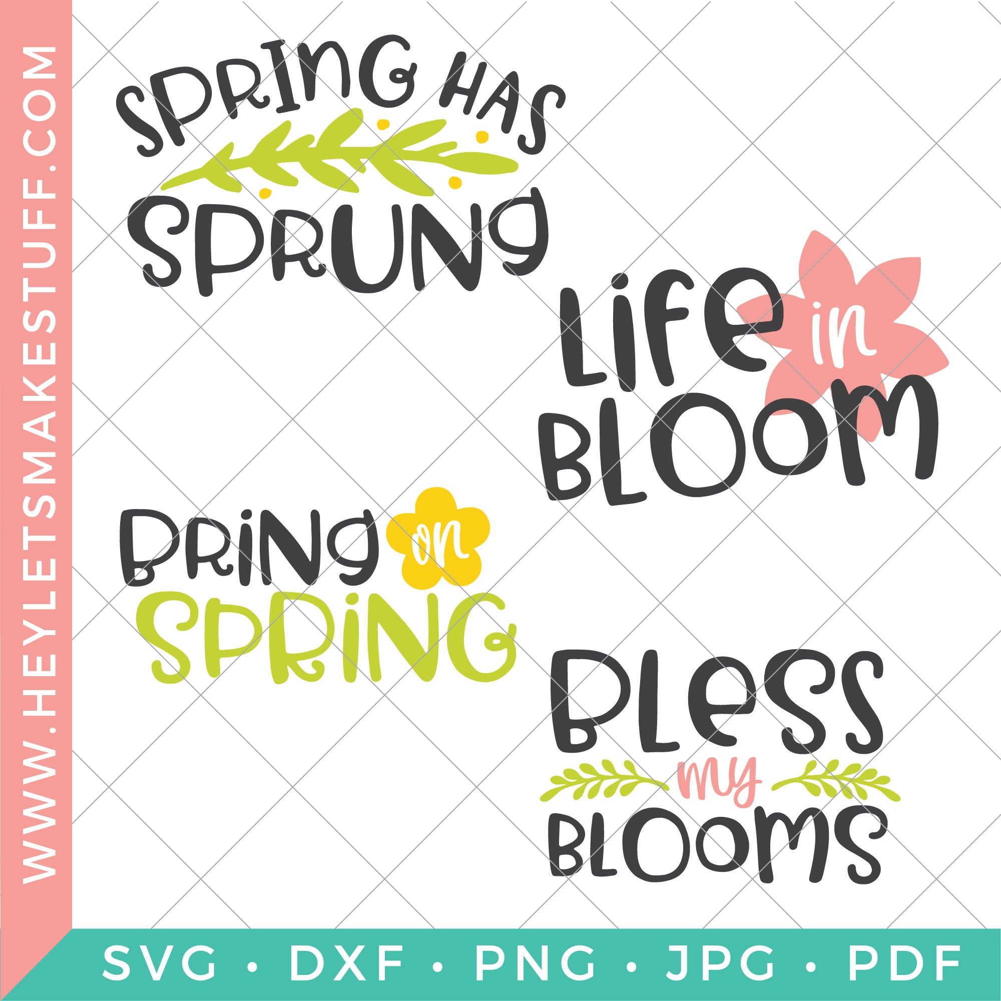 49+ Spring Is In The Air Svg Cutting Files Image