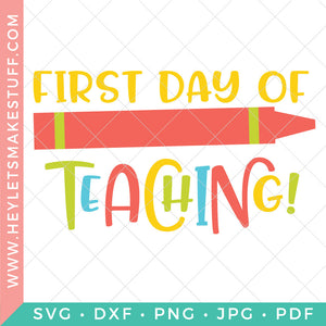 First Day of Teaching