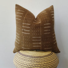Brown Mud Cloth Pillow No.1