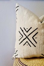 White Mud Cloth Pillow No.2