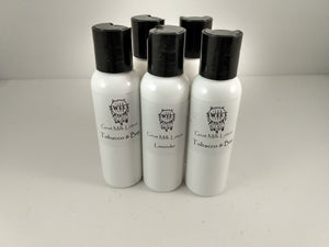 Sample Pack of Goat Milk Lotion
