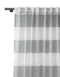 Cabana Linen Stripe Sheer - (Sold in Pairs)