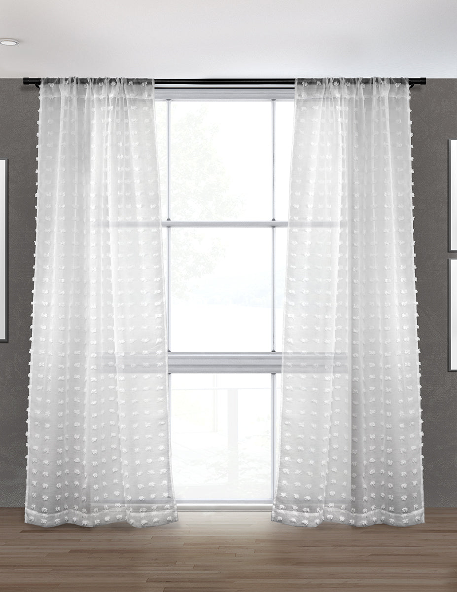 PUFFY - Sheer Curtain (Sold in Pairs)