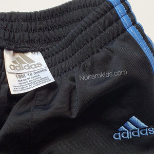 Adidas Baby Boys Black Track Pants Used View 3