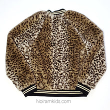 Load image into Gallery viewer, Art Class Leopard Faux Fur Girls Jacket Used View 3