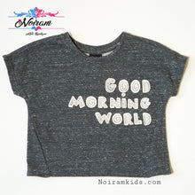 Load image into Gallery viewer, Art Class Good Morning World Shirt 18M NWOT