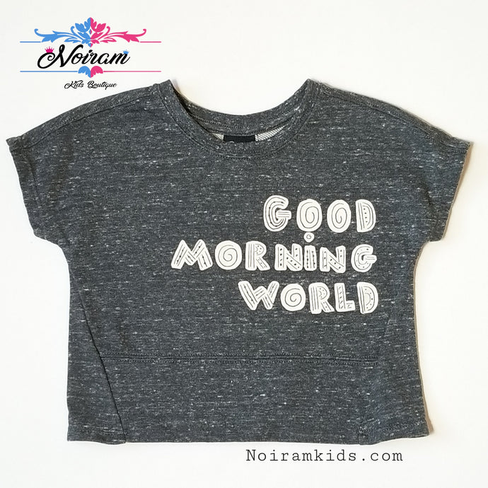 Art Class Good Morning World Shirt 18M NWOT