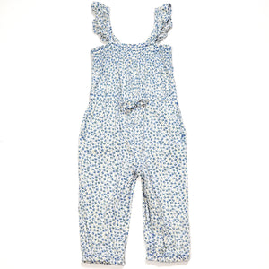 Baby Gap Girls Floral Jumpsuit 18M Used View 1
